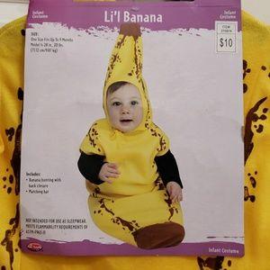 Costumes Banana Costume For Baby Poshmark